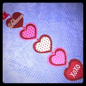 """♥️🆕 Valentine's Hanging Welcome Sign XOXO 22"""""""